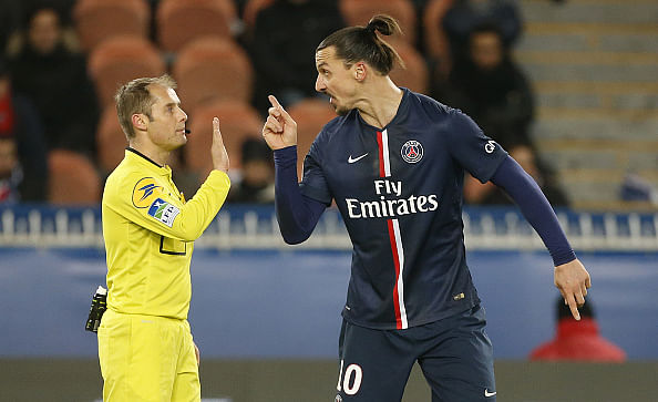 Lyon coach claims Zlatan Ibrahimovic abuses referees in foreign languages