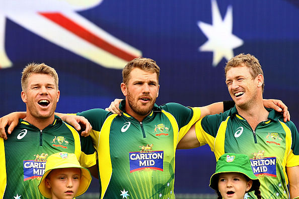 Aaron Finch unfazed by long boundaries in World Cup