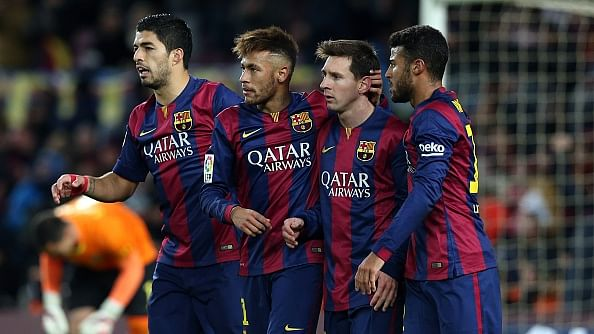 Good for Barcelona if Lionel Messi plays as a winger: Luis Enrique