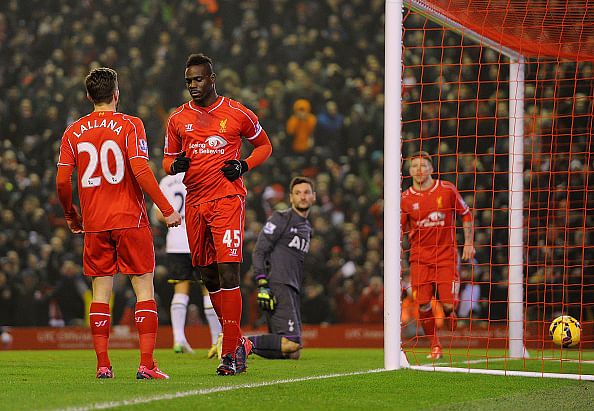 Headliner Mario Balotelli does it again