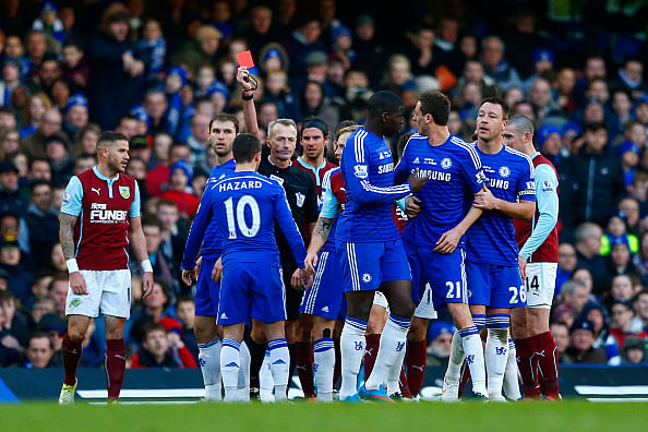 Highlights 10 man chelsea forced to settle for 1 1 draw with burnley