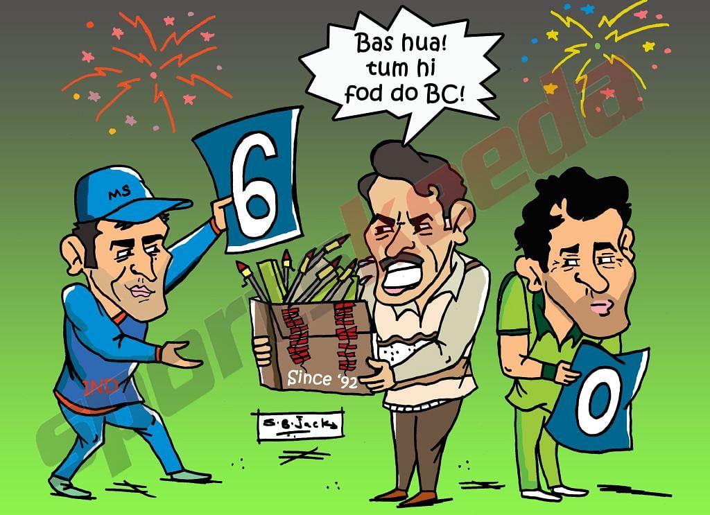 Comic: India 6-0 Pakistan