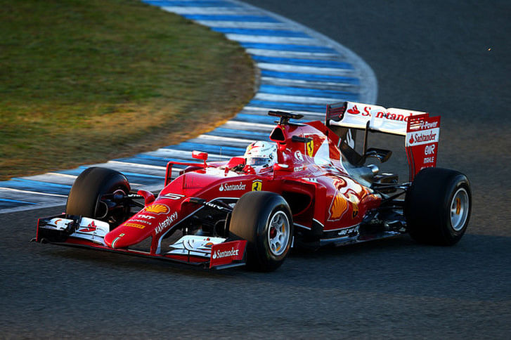 Sebastian Vettel keeps Ferrari on top on day two in Jerez