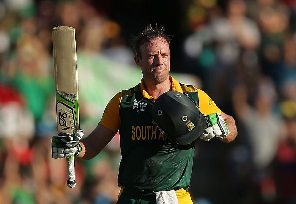 Cricketers react to AB de Villiers' brilliance on Twitter