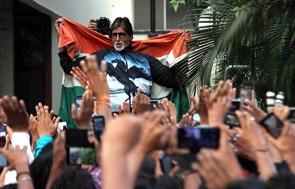 Great joy to drape National Flag over shoulders: Amitabh Bachchan after India's win over Pakistan
