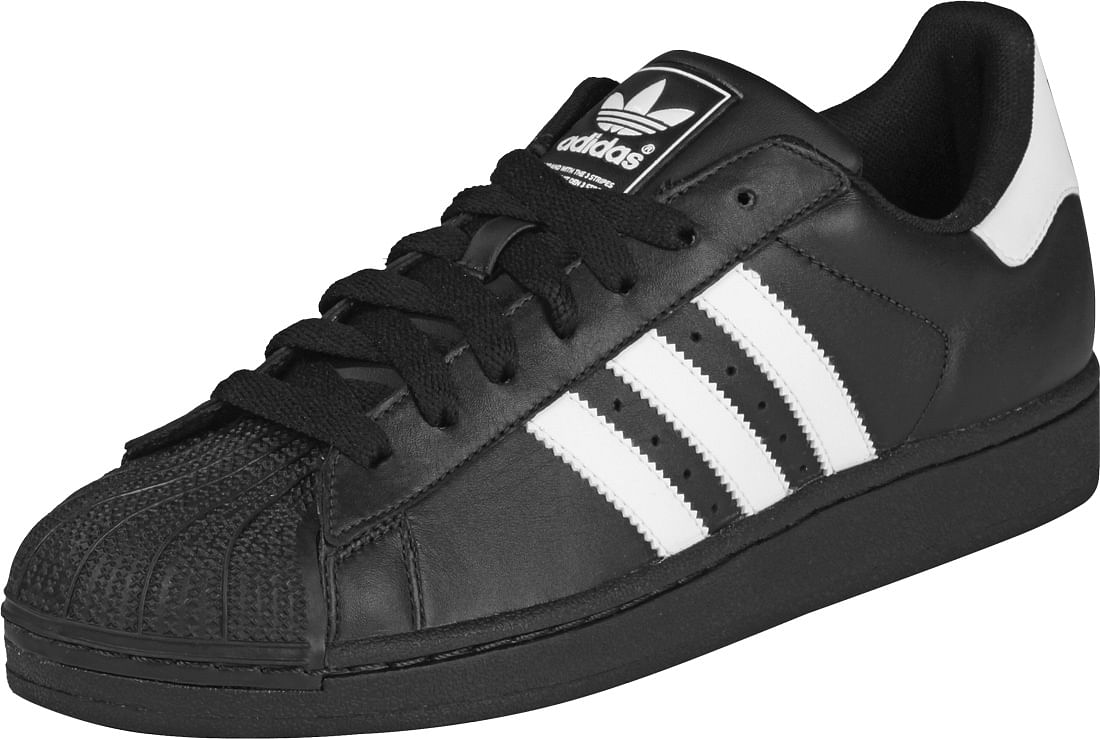 Adidas Superstar Sneakers in White Green Gold - Akira