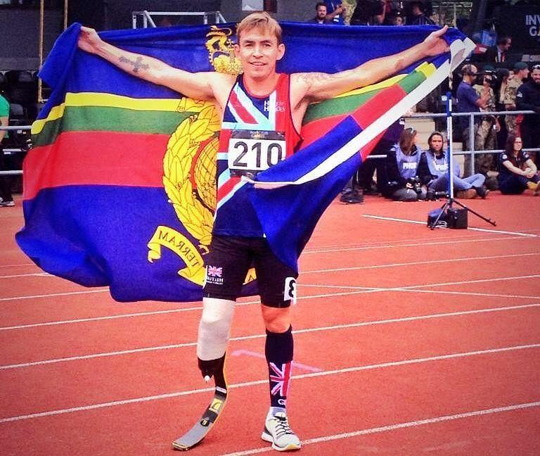 This Marine Lost His Leg In Afghanistan But Still Ran the Boston Marathon