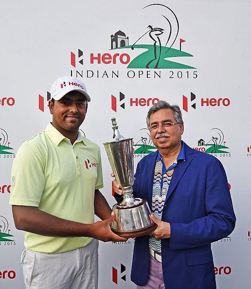Anirban Lahiri etches his name on Indian Open trophy with playoff win over SSP Chawrasia