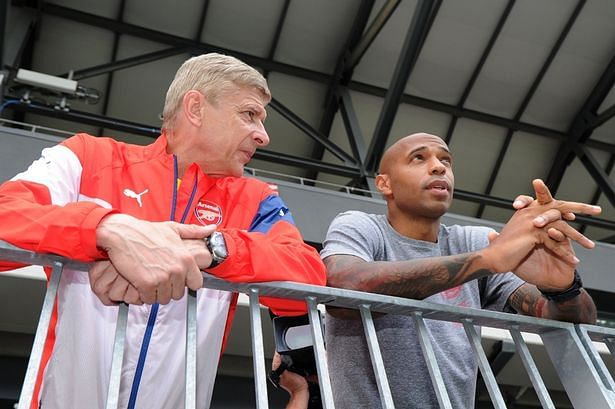 Thierry Henry to begin coaching in Arsenal's academy