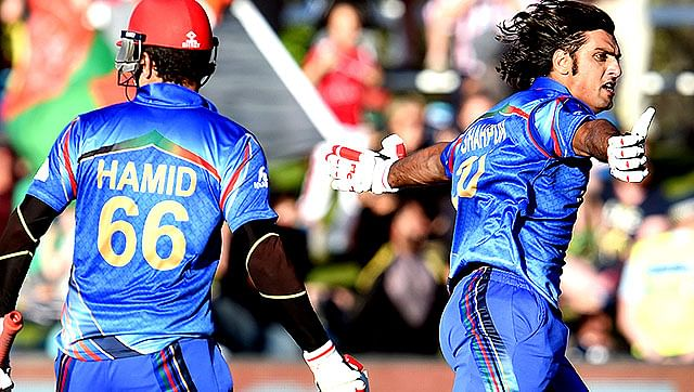 Afghans elated after the thrilling one wicket victory