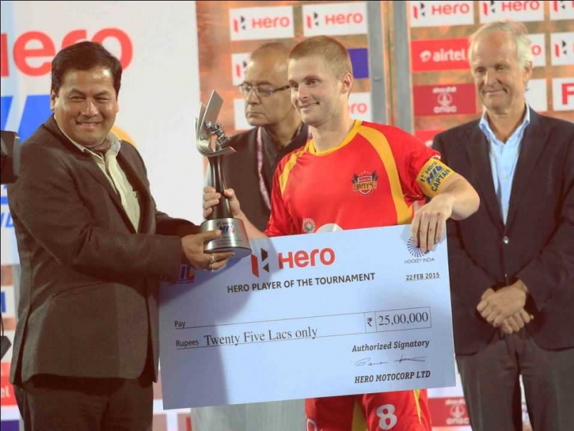 Ranchi Rays skipper Ashley Jackson named best player of 2015 Hockey India League
