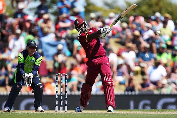 World Cup: Lendl Simmons, Darren Sammy power West Indies to 304/7