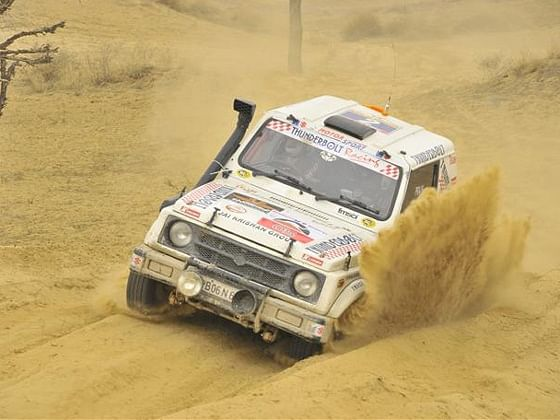 Desert Storm Rally flagged off