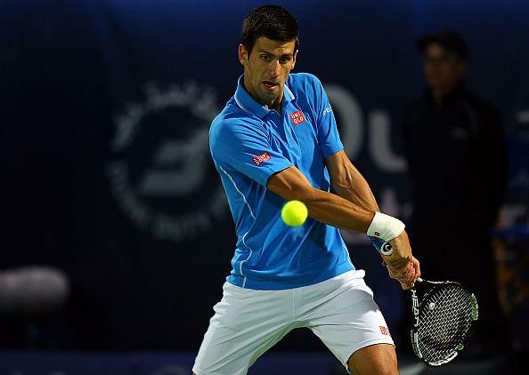 Novak Djokovic enters second round in Dubai open