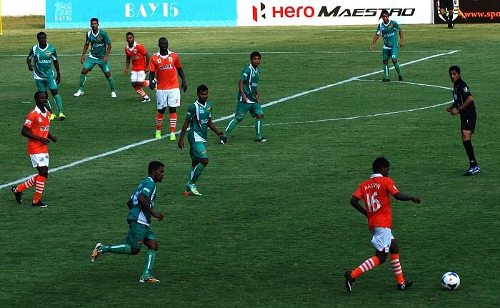 Salgaocar FC secure 2-0 victory over Sporting Clube in Goan derby