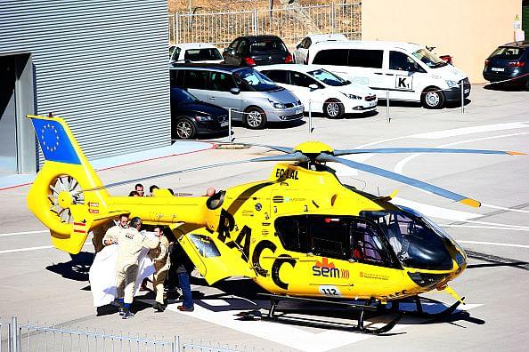 McLaren's Fernando Alonso involved in serious crash