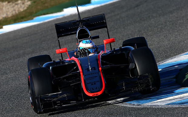 Mclaren Honda Turbo Testing Times at Mclaren-honda