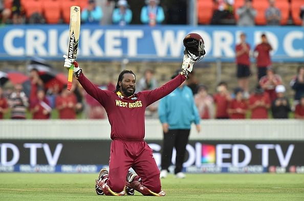 Twitter reactions: Chris Gayle becomes 1st man to score double hundred in World Cups