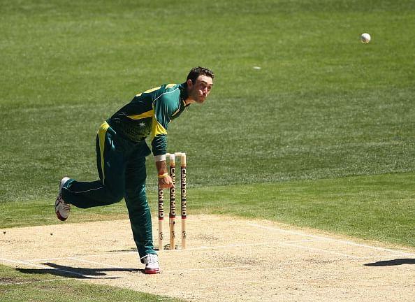 Glenn Maxwell comfortable being Australia's main spinner