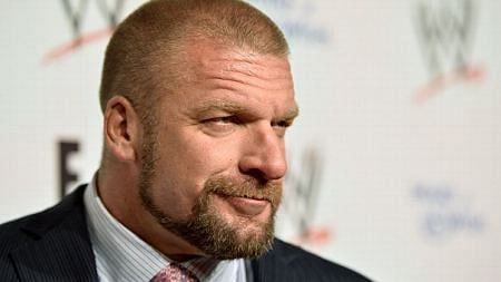 Triple H Triple H at Sunday s NFL Super