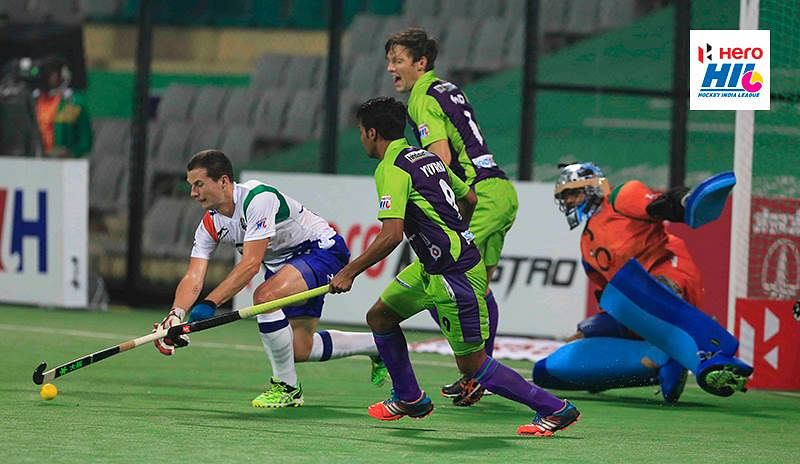Delhi Waveriders, UP Wizards draw 3-3 in thrilling clash