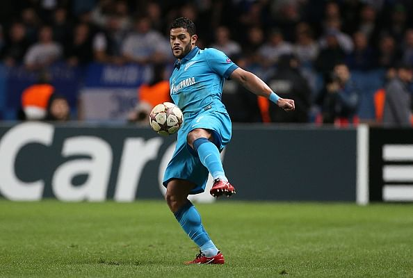 Brazilian footballer Hulk extends contract with Zenit till 2019