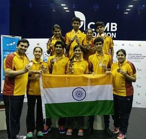 Indian squash teams secure third position at Asian Junior Squash Team Championships