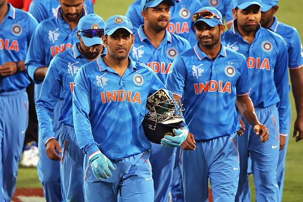 Indian cricket team return to practice after a day's break
