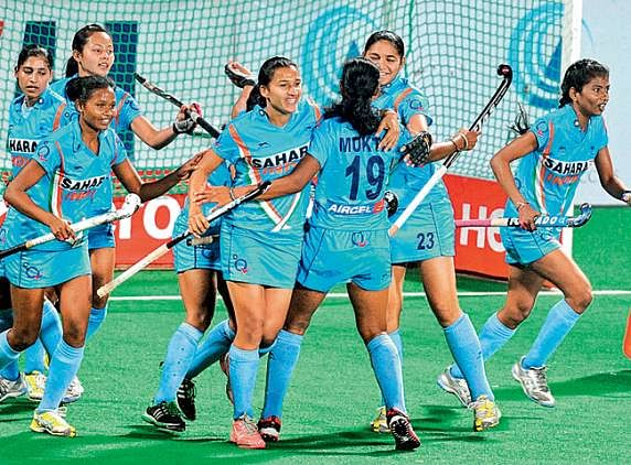 Indian women's hockey team beat Germany 2-1