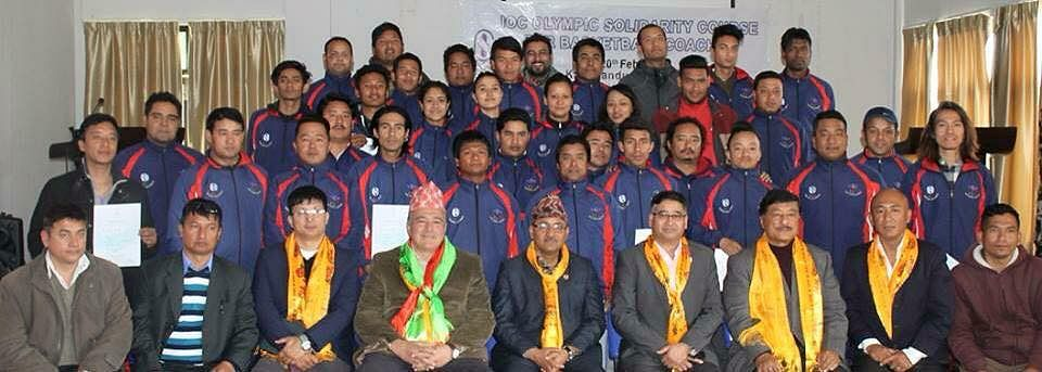 Olympic technical course for basketball coaches concludes in Nepal