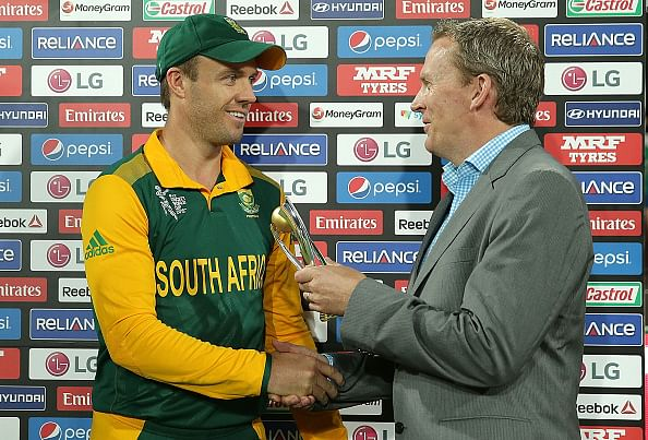 ICC World Cup 2015: South Africa v West Indies - AB de Villiers hands Caribbeans crushing defeat