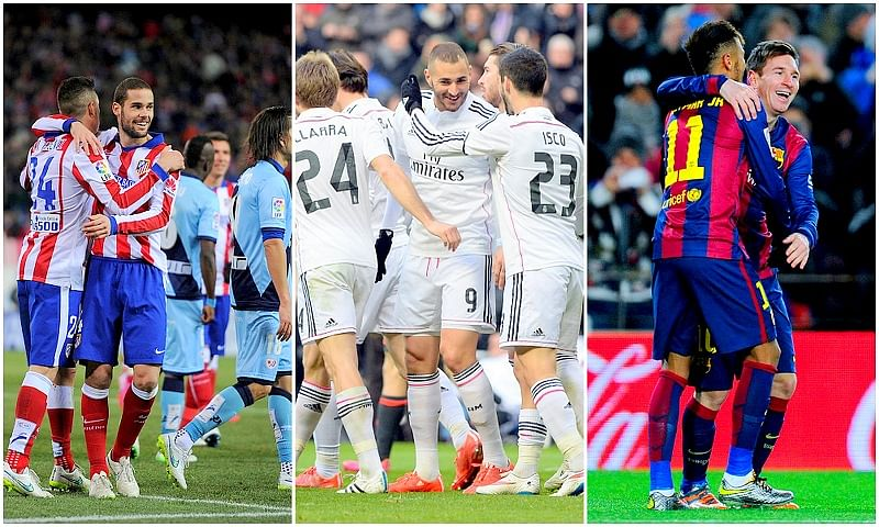 Explaining Real Madrid, Atletico Madrid and Barcelona's struggles against each other