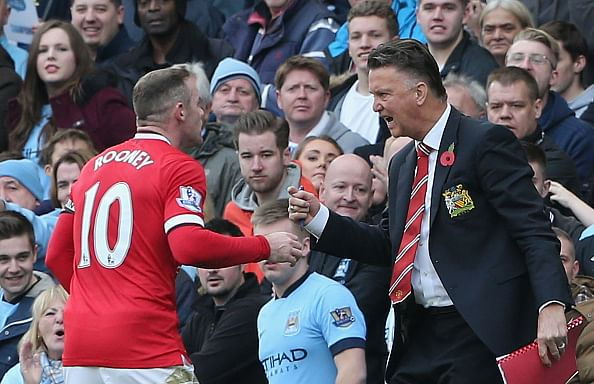 Louis van Gaal responds to Roy Hodgson's comments on playing Wayne Rooney as a midfielder