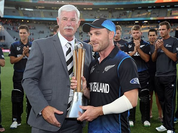 Brendon McCullum cleared of serious injury after forearm smack