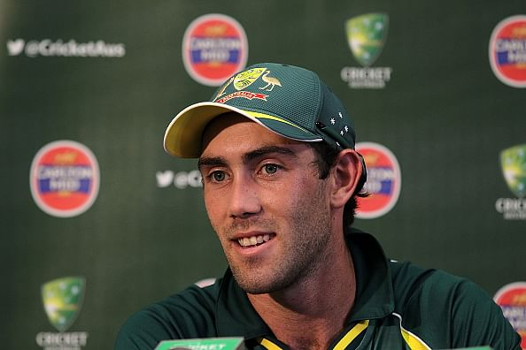 Glenn Maxwell becomes the first Australian player to score 95 or more runs and take at least 4 wickets in an ODI