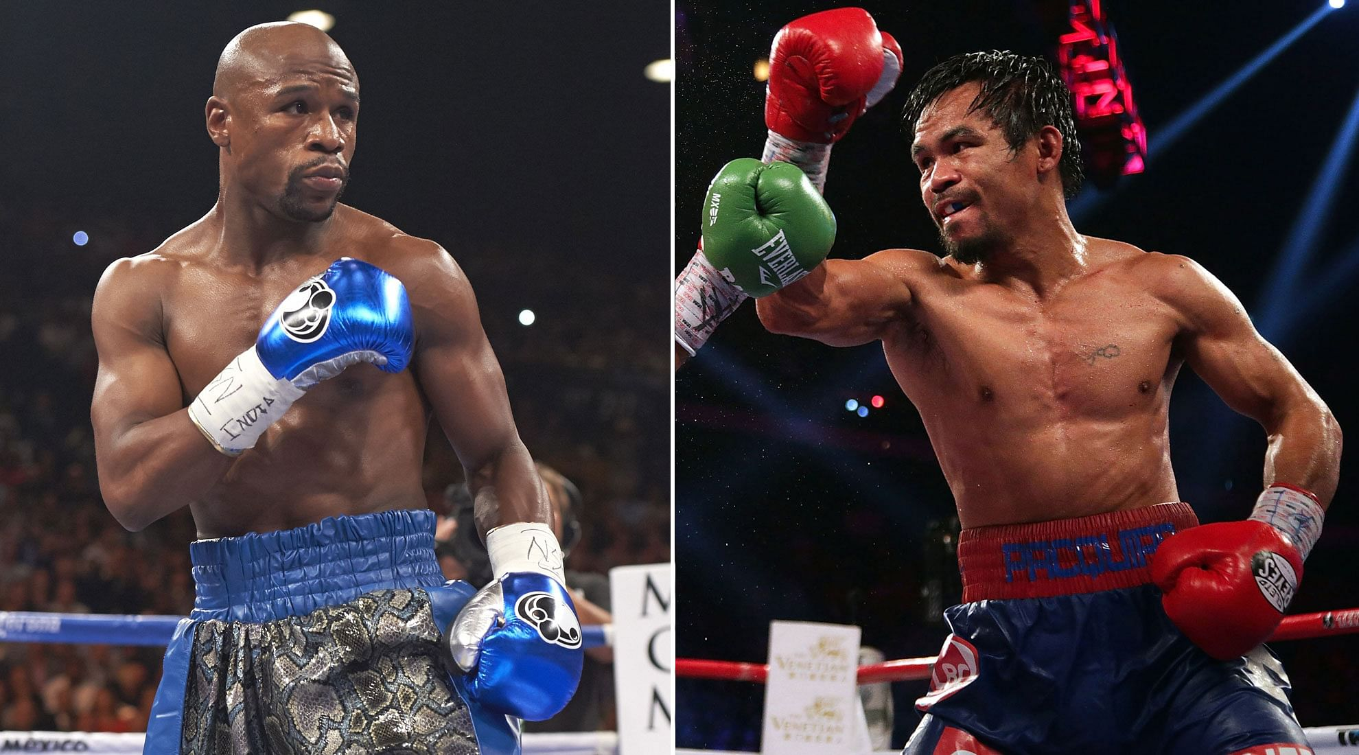 Floyd Mayfeather and Manny Pacquiao agree to a £160m fight according to reports