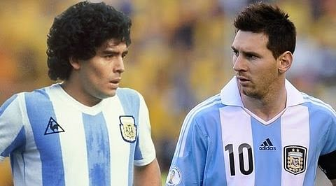 Past vs Present: Diego Maradona vs Lionel Messi - Who is Argentina's greatest No.10?