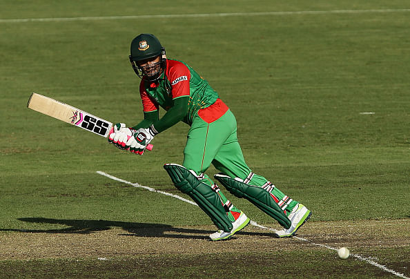 ICC Cricket World Cup 2015: Rahim, Shakib take Bangladesh to 267 against Afghanistan