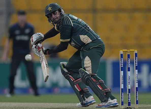Nasir Jamshed replaces injured Mohammad Hafeez in Pakistan's World Cup squad