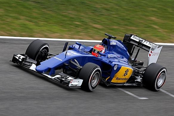 Felipe Nasr finishes first with Ferrari powered Sauber on day three in Jerez