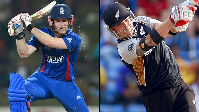 ICC World Cup 2015: New Zealand vs England - Player vs Player stats