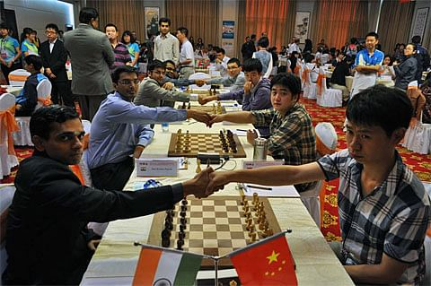 India to clash with China in team chess tournament
