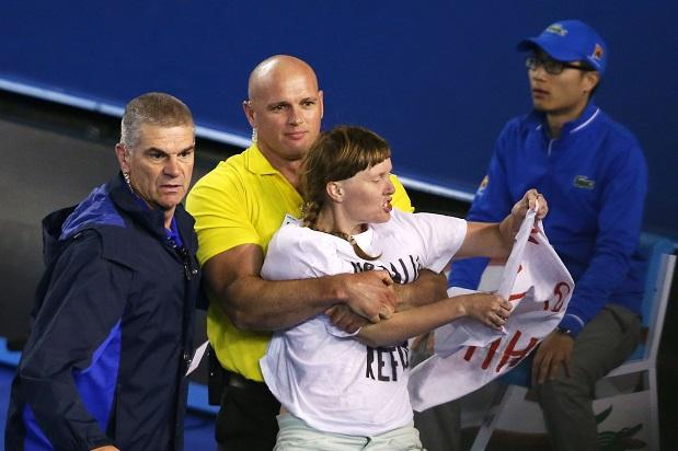 Australian Open protesters vow to interrupt more events