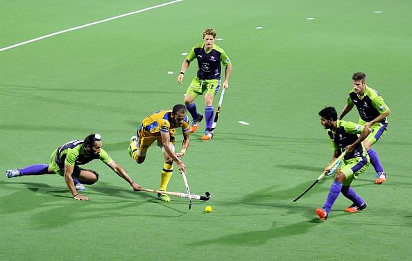 Highlights from second semifinal of the Hockey India League