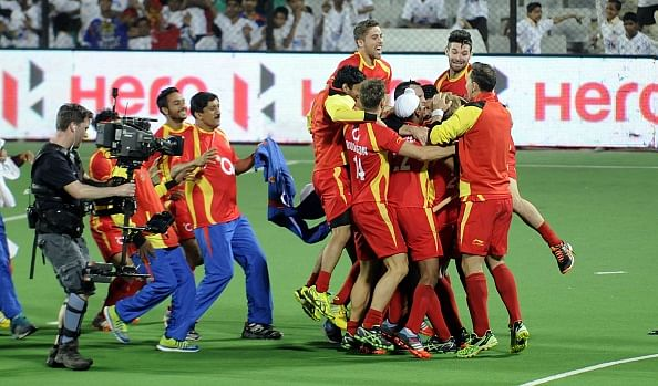 Ranchi Rays beat Jaypee Punjab Warriors in a thrilling final to win the 2015 Hockey India League