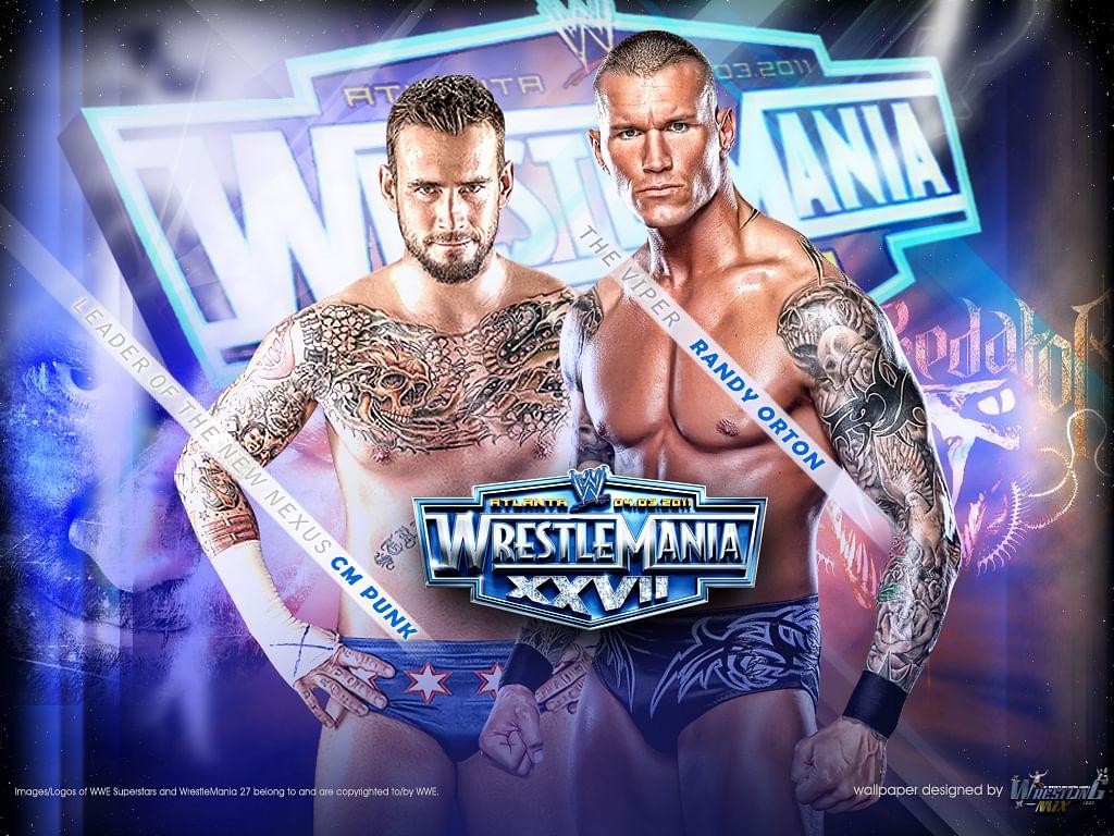 WrestleMania Rewind : Randy Orton vs CM Punk at WrestleMania XXVII