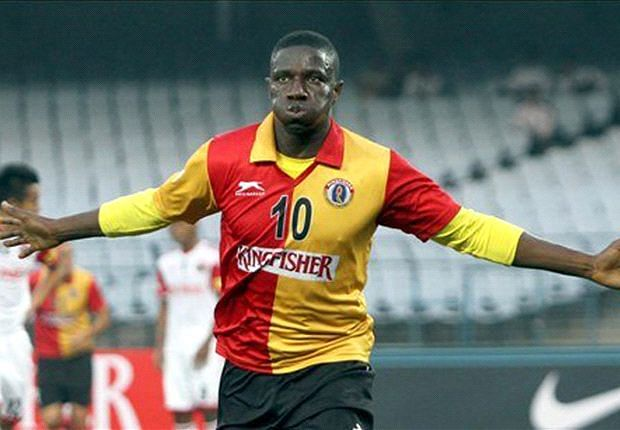 East Bengal overcome Shillong Lajong 2-1 in a closely fought encounter
