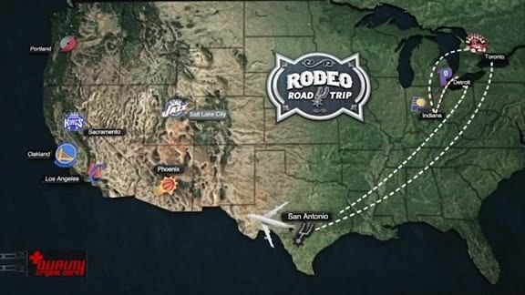 The San Antonio Spurs' annual Rodeo road trip -The test before the post-season
