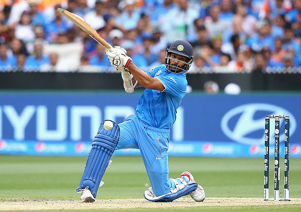 Shikhar Dhawan's ton guides India to 307/7 against Proteas