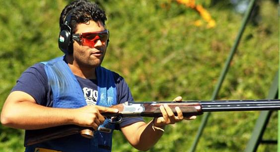 Punjab's Smit Singh bagged two gold medals in men's skeet at the 35th National Games